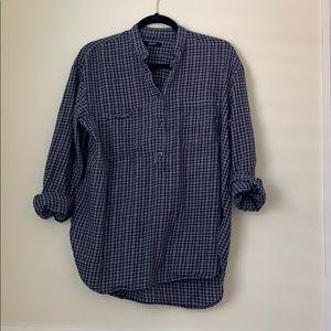 Madewell boyfriend style shirt
